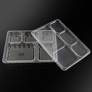5 CP Meal Tray With Lid